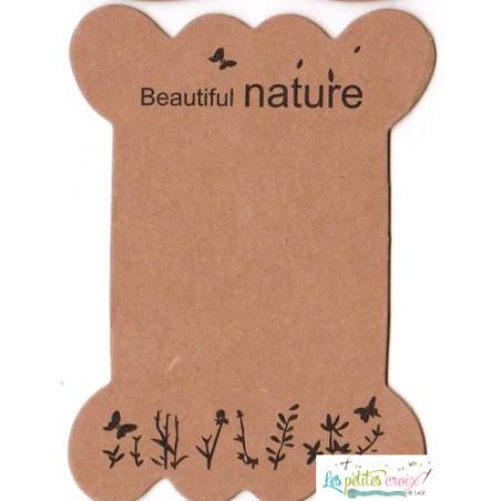 Cartonnette Beautiful Nature