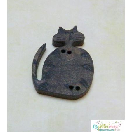 Dinner time cat grey tabby
