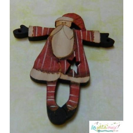 Père Noël manteau rouge