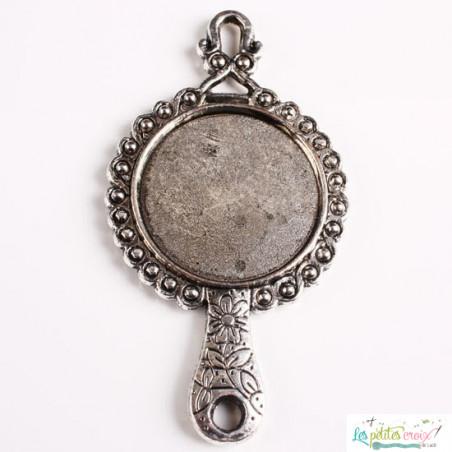 Charm pendentif miroir