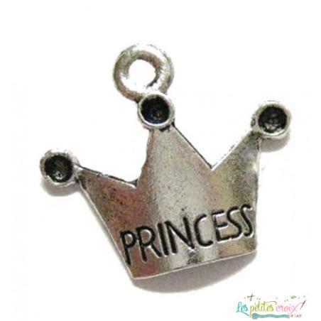 Charm couronne de princesse