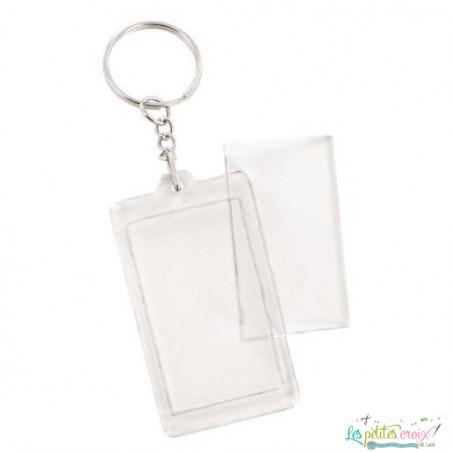 Porte clefs rectangle