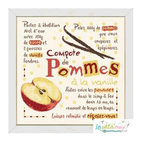 La compote de pommes à la...