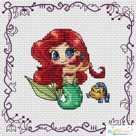 Baby Princess Ariel (grille 8)