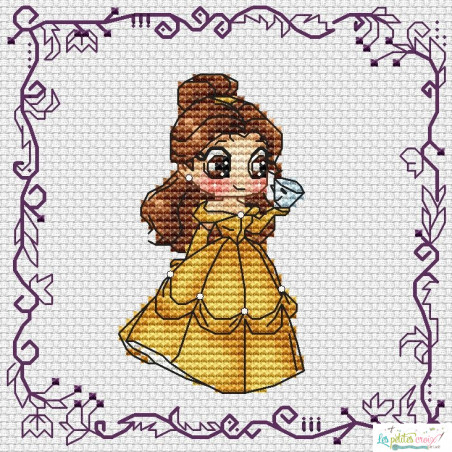 Baby Princess Belle (grille3)