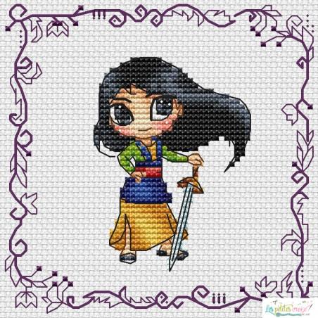Baby Princess Mulan (grille6)