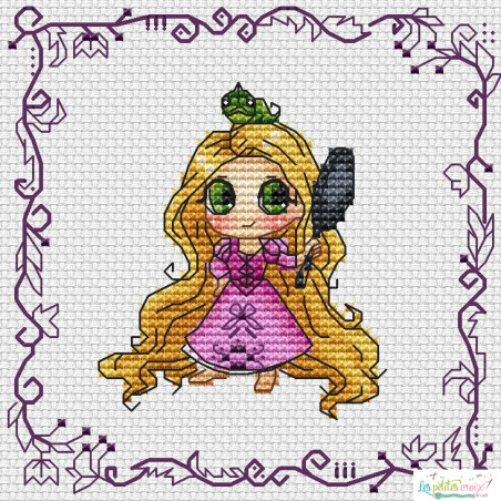 Baby Princess Raiponce...