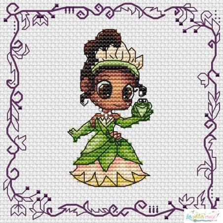 Baby Princess Tiana (grille2)