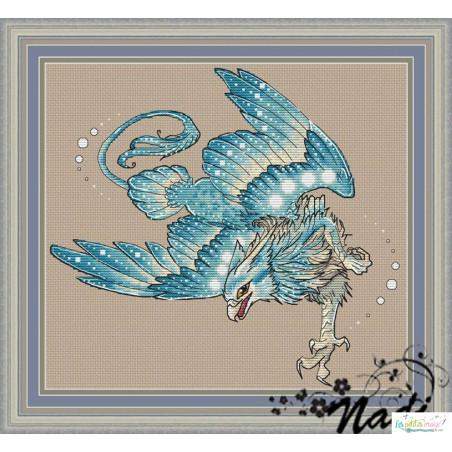Griffon bleu