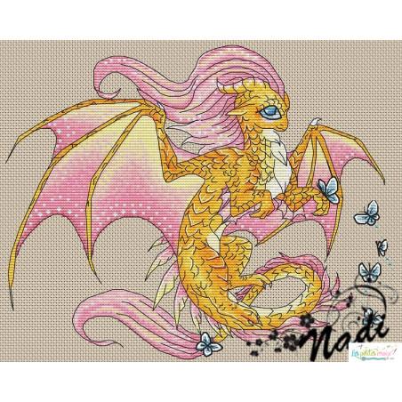 Le dragon de rose