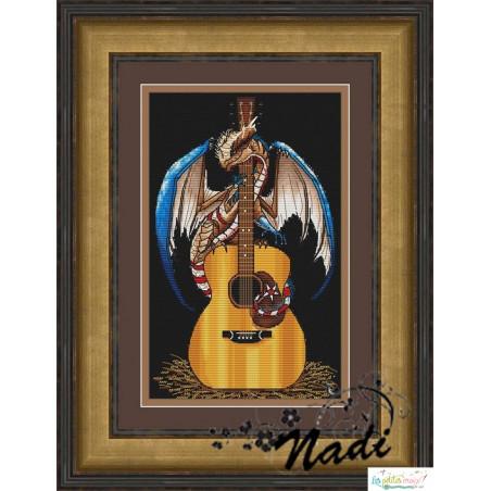 Le dragon à la guitare