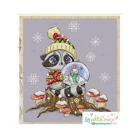Raton laveur à Noël