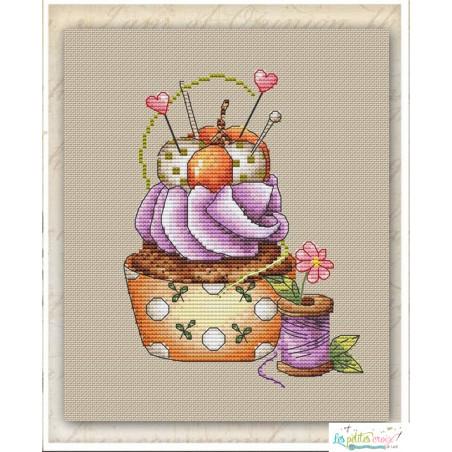 Seasonal cupcake autumn