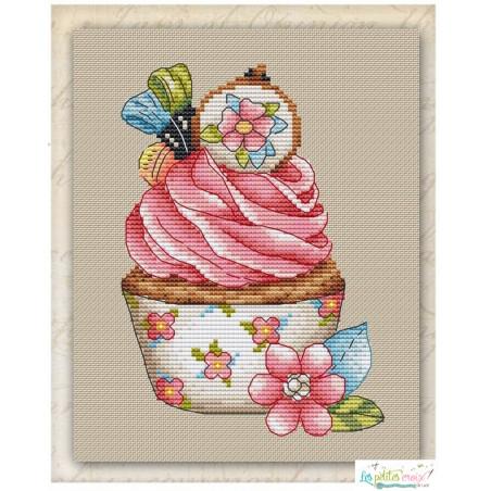 Seasonal cupcake spring