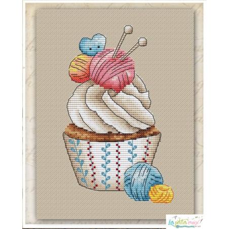 Seasonal cupcake winter