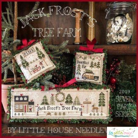 Jack frost's tree farm...