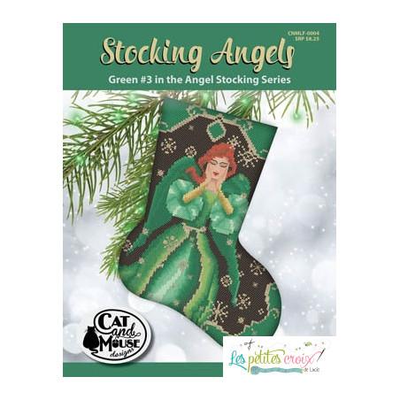 Stocking angels green
