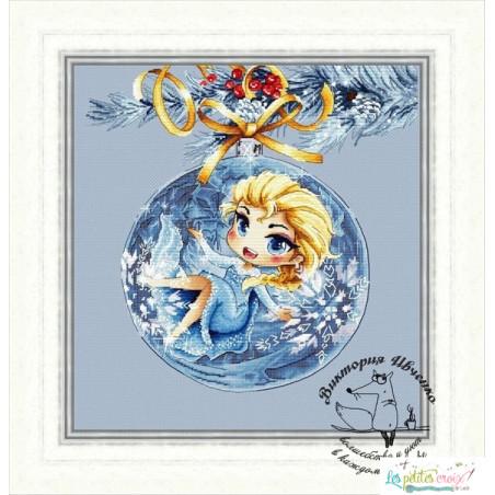 Elsa Christmas ball