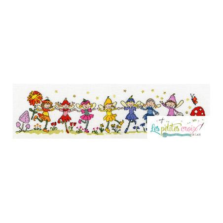 Row of fairies