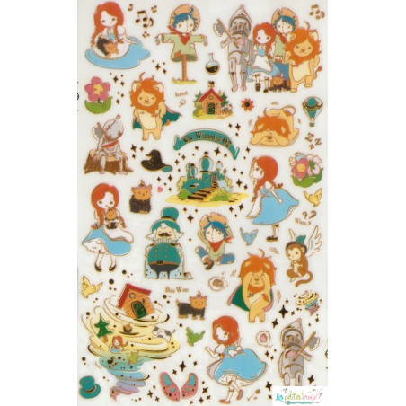 """Stickers """"Le magicien d'Oz"""""""
