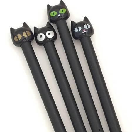 Stylo chat noir