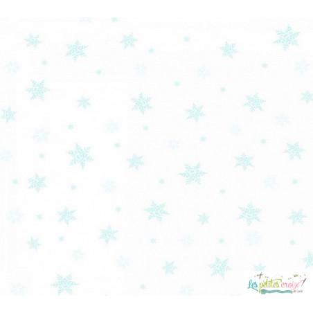 Snow flakes etamine