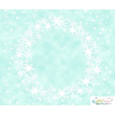 Winter wreath aida
