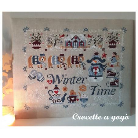 Grille point de croix CROCETTE A GOGO - Winter time