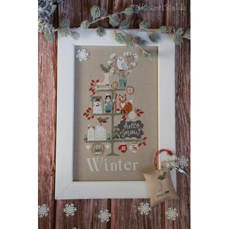 Grille point de croix - Celebrate winter -Madame Chantilly