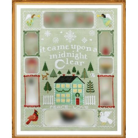 Grille point de croix - Christmas dreams 2 -  Tiny Modernist
