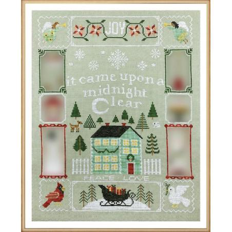 Grille point de croix - Christmas dreams - Tiny Modernist