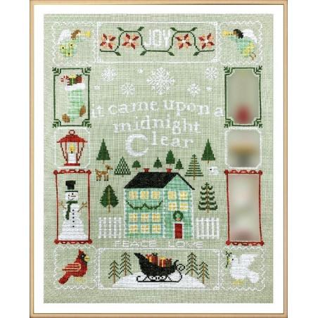 Grille point de croix - Christmas dreams 4 - Tiny Modernist