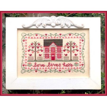 Grille point de croix - Country Cottage Needleworks - Les petites croix de Lucie