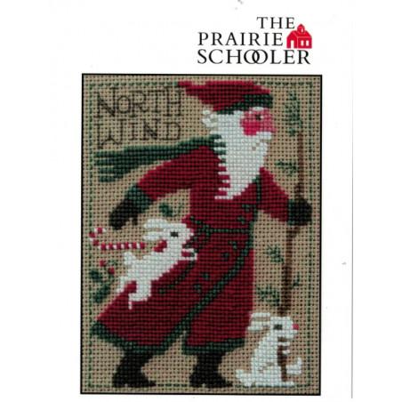 Grille point de croix - 2020 Santa - The Prairie Schooler