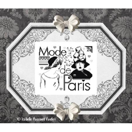 Grille point de croix - A la mode de Paris - Les petites croix de Lucie