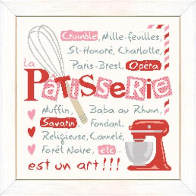 Grille point de croix - Pâtisserie G042 - Lili points