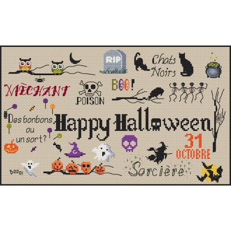 Halloween sampler