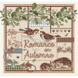 Grille point de croix - Romance en automne - Madame La Fée