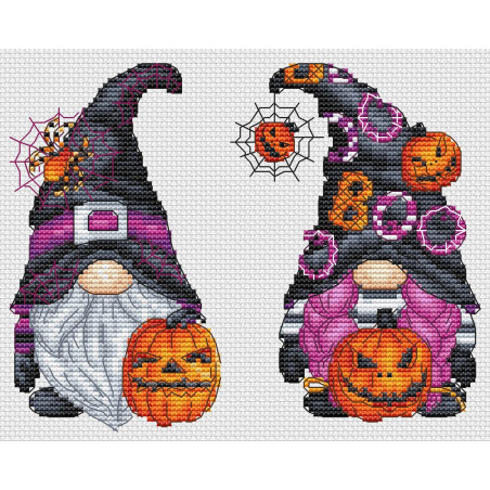 Gnomes d'Halloween
