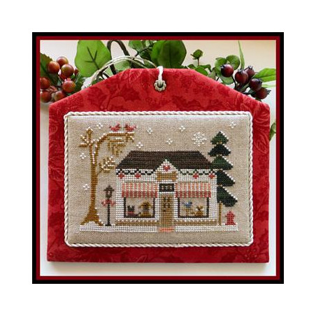 Grille point de croix - Hometown Holiday - Pet store - Little house needleworks