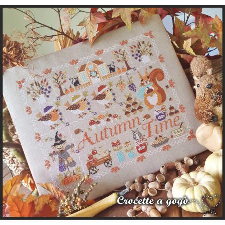 Grille point de croix - Autumn time - CROCETTE A GOGO