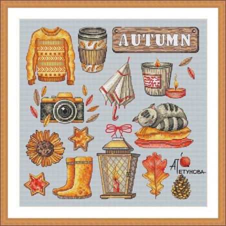 Grille point de croix - Autumn 2021 - Anna Petunova